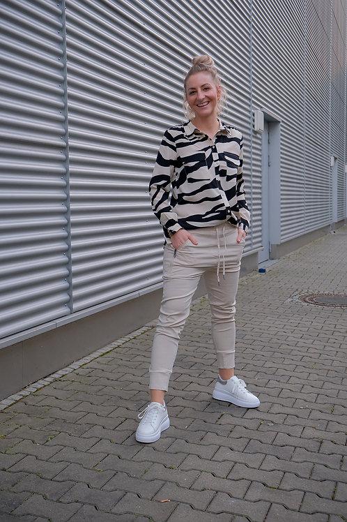 Zebra Bluse Omina