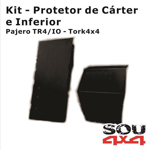 Kit Protetor de Cárter e Inferior - TR4/IO
