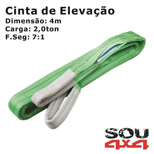 Cinta de Elevação - Plana Sling - 2,0ton - 4m - 7:1