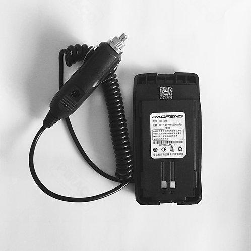 Eliminador de bateria 12v (p/Baofeng UV-6R)