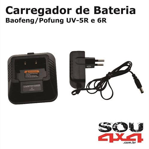 Carregador de Bateria p/Baofeng UV-5R/6R