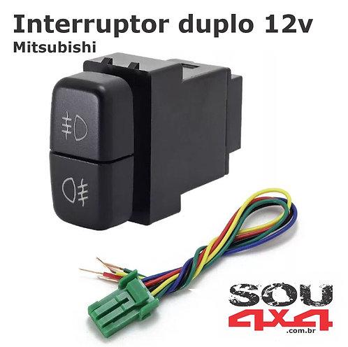 Interruptor duplo 12v - MIT Farol - x