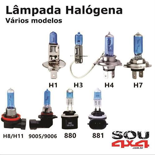 Lâmpada Halógena - (vários tipos)