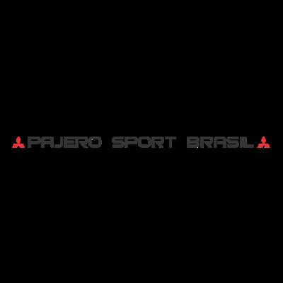 Adesivo - Pajero Sport Brasil - Testeira