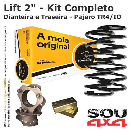 "Lift 2"" - Kit Calço+Mola+CalçoBE - Pajero TR4/IO"