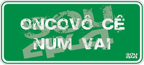 Adesivo Sinaliza 009 - SOU 4X4 - 15x7cm