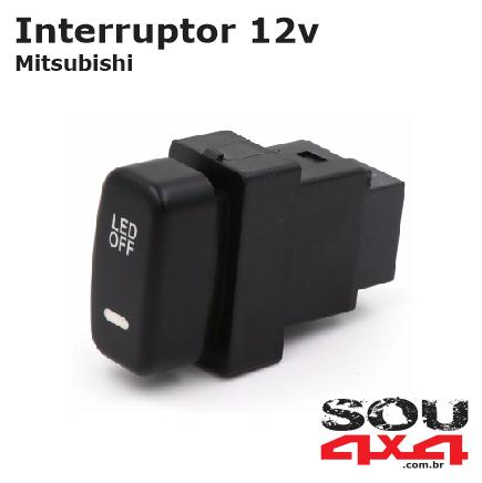 Interruptor 12v - MIT LED OFF