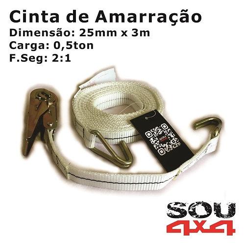 Cinta de Amarração - 0,5ton - 3m