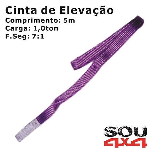 Cinta de Elevação - Plana Sling - 1,0ton - 5m - 7:1