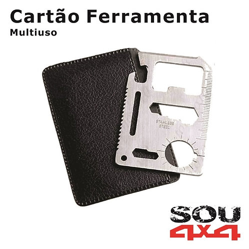 Cartão Multifuncional - 11 funções