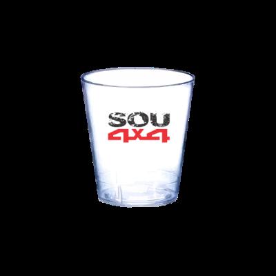 Copo de Dose Acrílico - SOU 4X4 - (2 unids)
