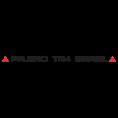 Adesivo - Pajero TR4 Brasil - Testeira