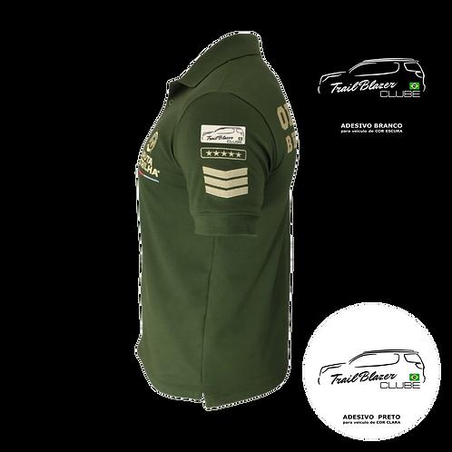 COMBO 01: Camisa Polo - BT - Trailblazer + Adesivo
