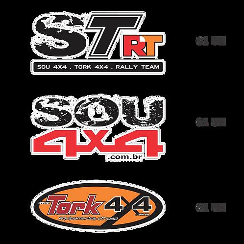 Adesivo - Kit STrallyteam + SOU 4X4 + TORK 4X4