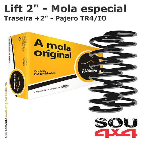 "Lift 2"" - Mola traseira especial +2"" - Pajero TR4/IO"