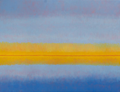 Reflections_JSRogers_30x40_oil encaustic