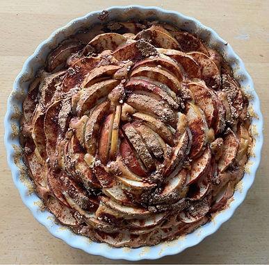 Torta alle mele (an Italian version of the famous apple pie)