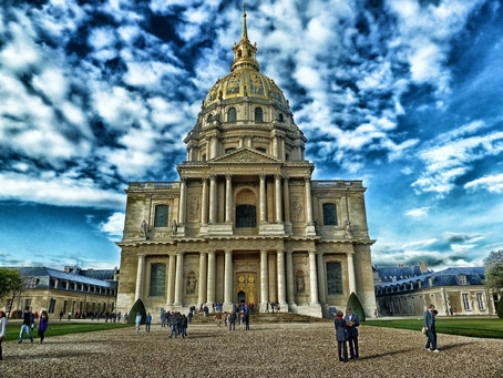 The glorious final resting place of the great emperor Napoleon Bonaparte