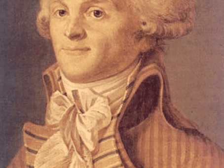 Robespierre and his way of terror