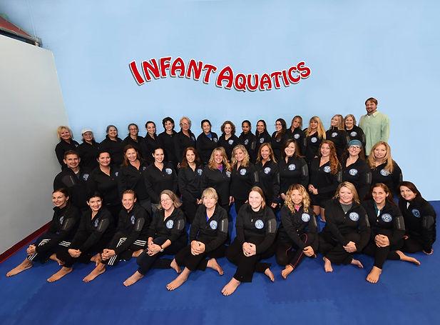 Infant Aqatics group photo