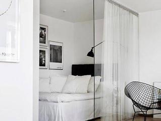 Domino Magazine: Creative ways to handle small Bedrooms