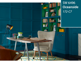 #Sherwin WIlliams 2018 Color of the Year