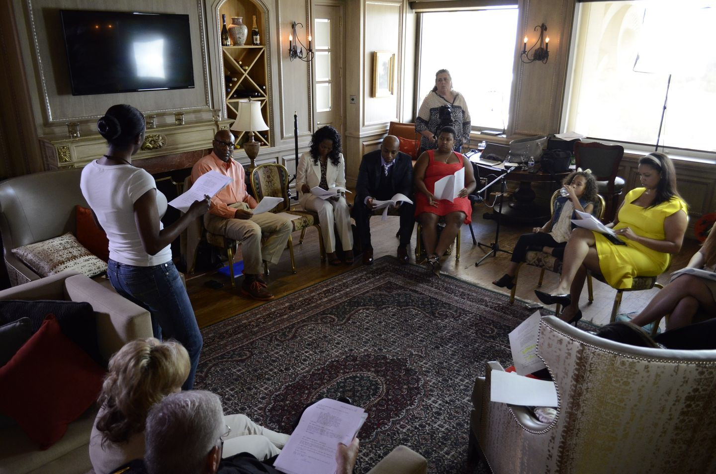 Traces of Indignity Table Read