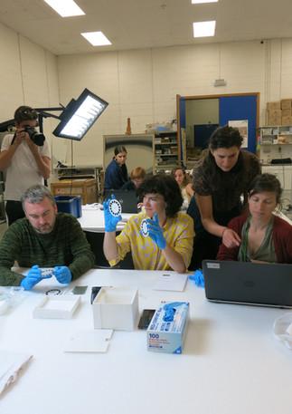 Plastic Identification Workshop at S.M.A.K. Gent