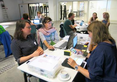 Plastic Identification Workshop at Design Museum Brussel