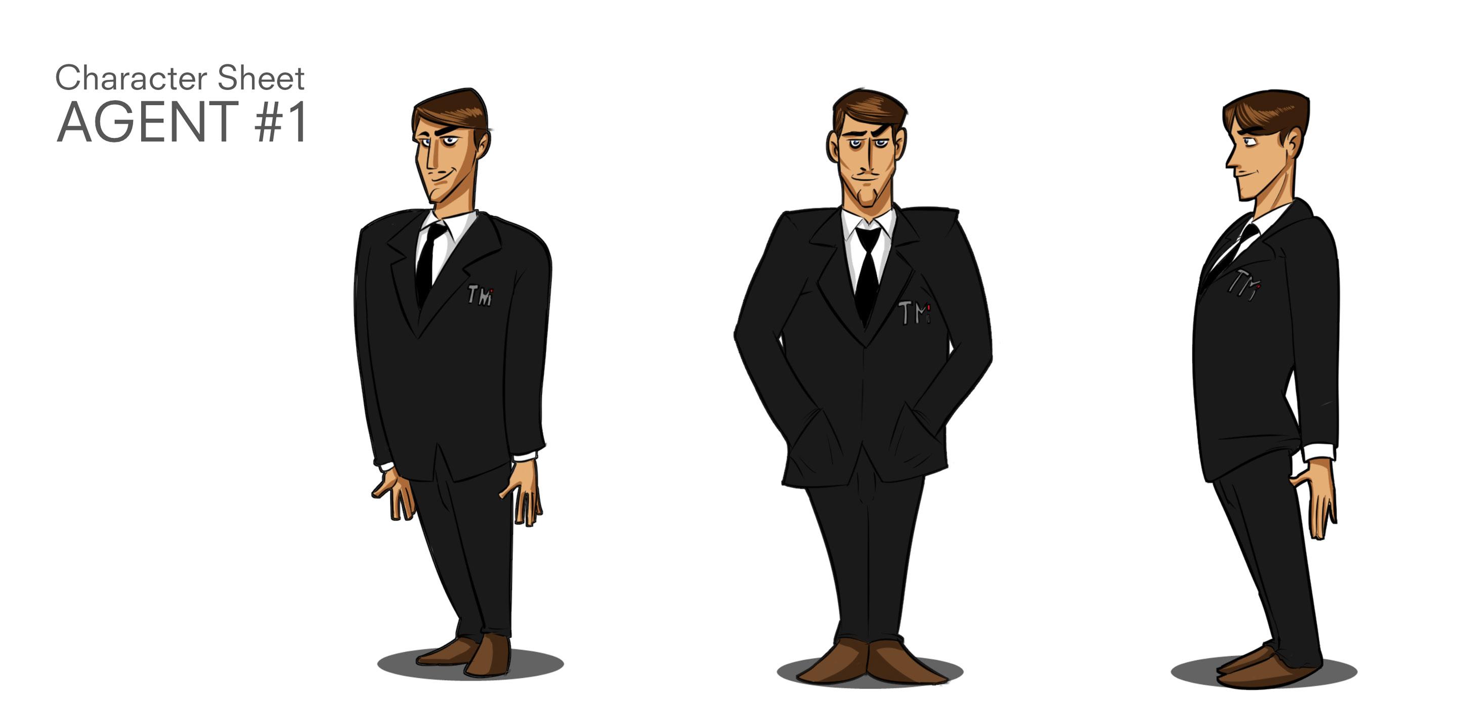 Agent Character Turnaround