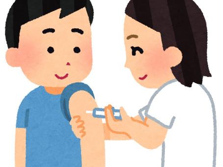インフルエンザ予防接種について