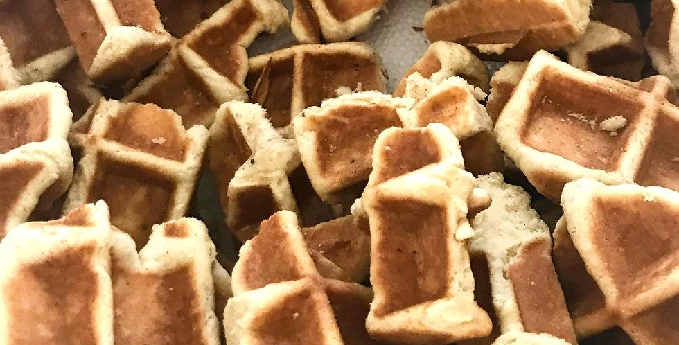 Vanille spelt wafelkoekje (150 gram)