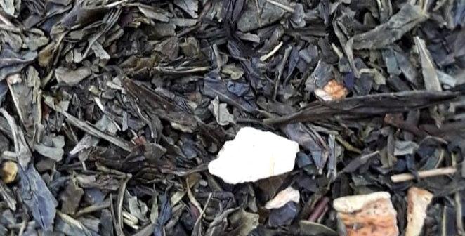 Groene thee met gedroogde citrus (100 gram)