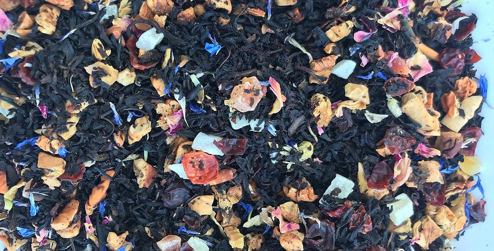 Zwarte thee met fruit (100 gram)