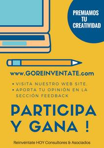 creatividad, concurso, premios, innovar, participación, reinventate