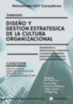Seminario DISEÑO Y GESTION ESTRATGICA CULTURA ORGANIZACIONAL