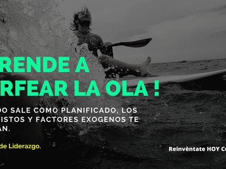 APRENDER A SURFEAR LA OLA !!
