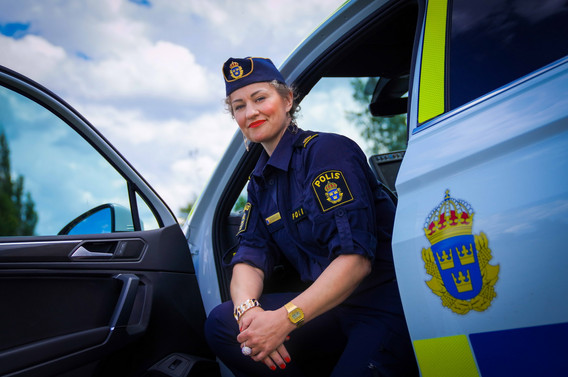 Elisabeth Oliv, kommunpolis Skara & Götene