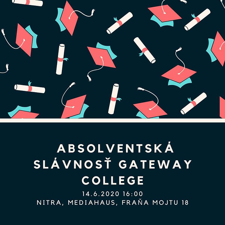 Absolventská slávnosť ročníka 2019/2020