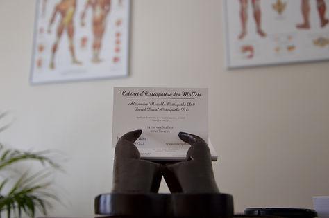 Carte visite Ostéopathie