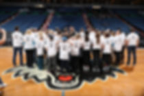 Ricky Rubio meets with members from A Breath of Hope