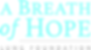 A Breath of Hope Lung Foundation Logo