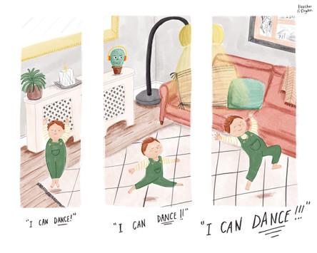 I can dance!