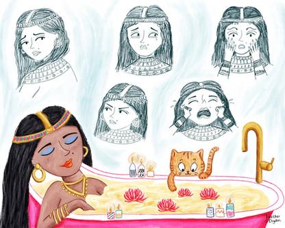 Cleopatra's Emotions