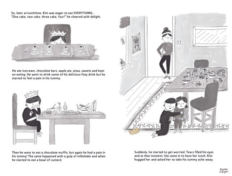Prince Kim and the Golden Lunch - Spread 02