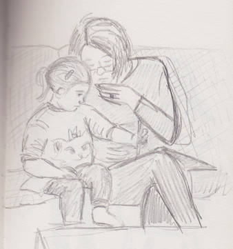 Drawing with Nanny