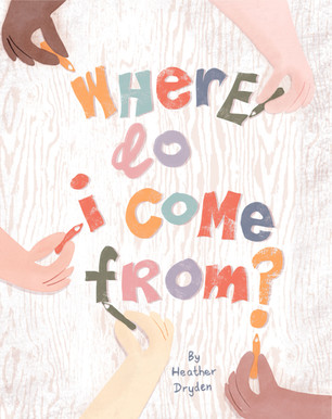 'Where do I come from?' Book Cover