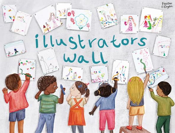 Bologna Illustrators Wall