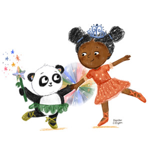 Princess and Panda