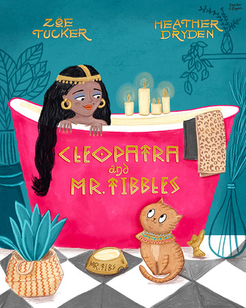 Cleopatra and Mr Tibbles Cover Design